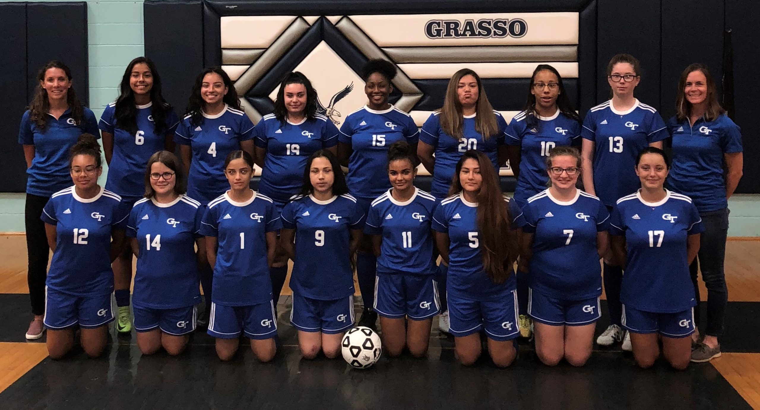 2020 Grasso Tech Girls Soccer Team Photo