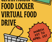 Restock the Locker Food Drive Poster