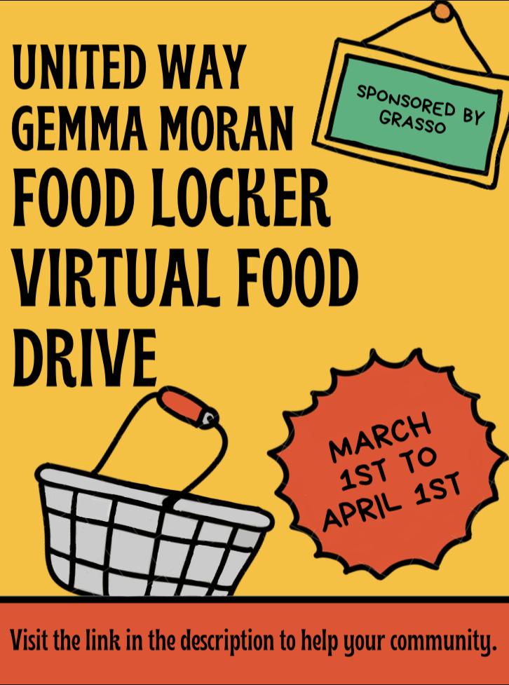 Restock the Locker Food Drive Poster