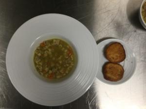 2nd Round dishes