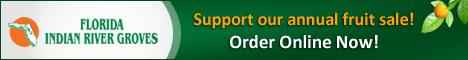 Florida Indian River Groves Fundraiser Banner - Citrus Sale Org#664639